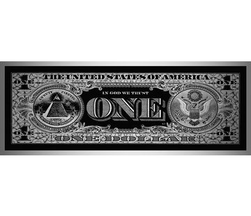 Plexiglas schilderij dollar