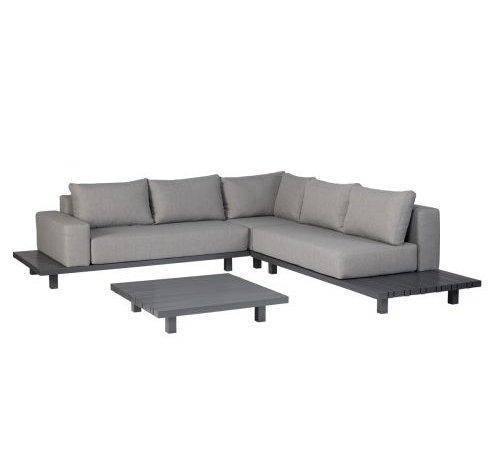 Exotan Paradiso lounge set aluminium