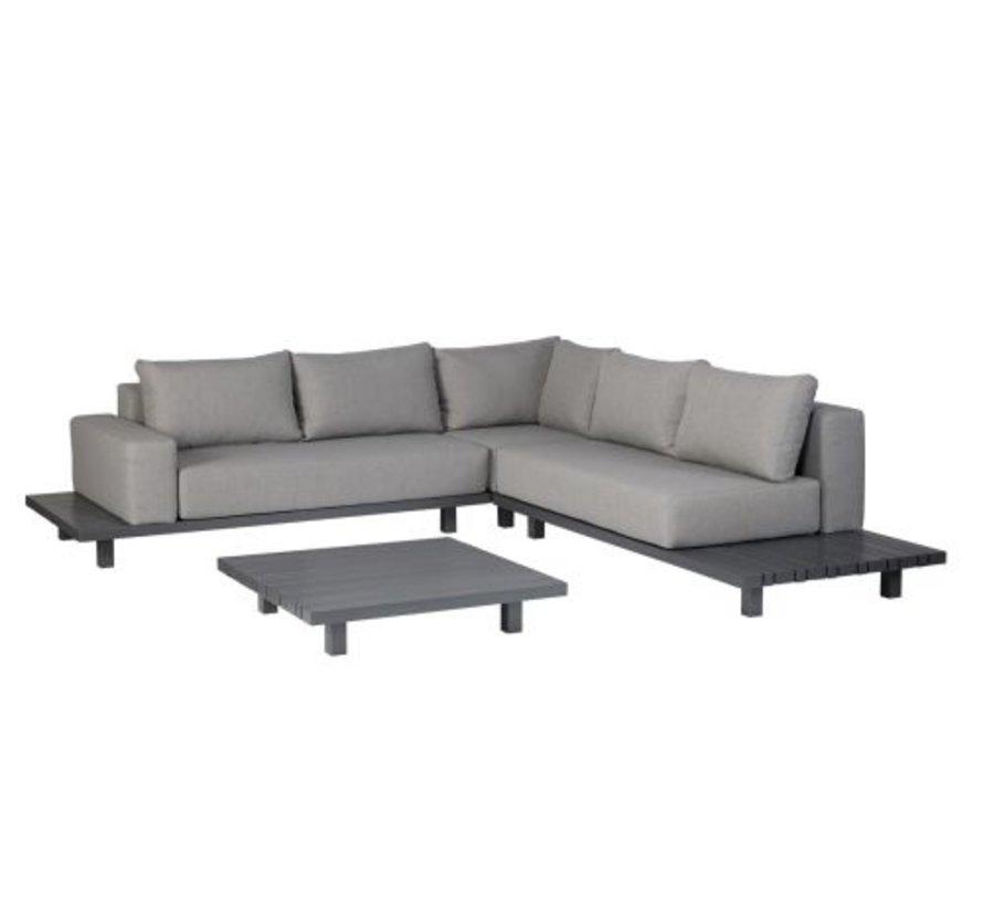 Paradiso lounge set aluminium