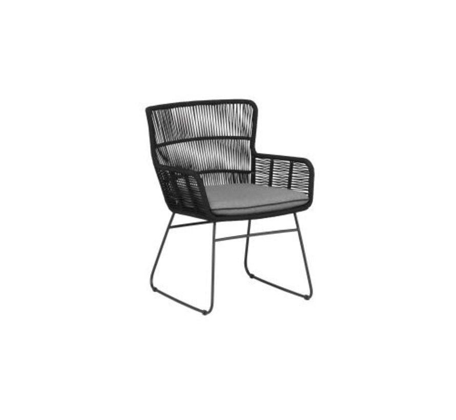 Grace steel stoel