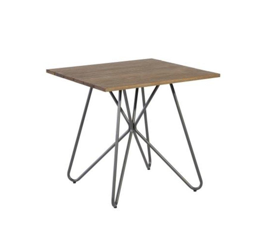 Slimm vierkante tafel