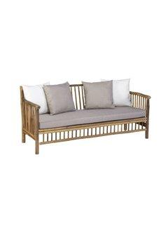 Exotan Bamboo Lounge bank