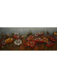 3d Schilderij metaal Garden