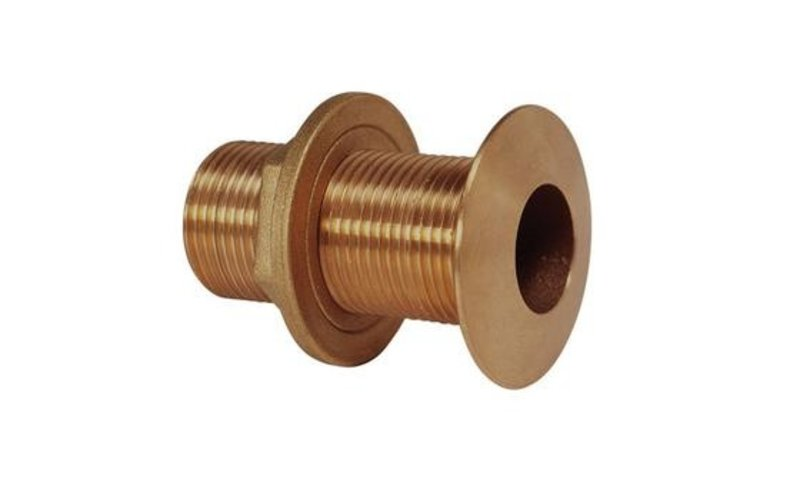 TCF Marine Bronzen huiddoorvoer 12,7mm