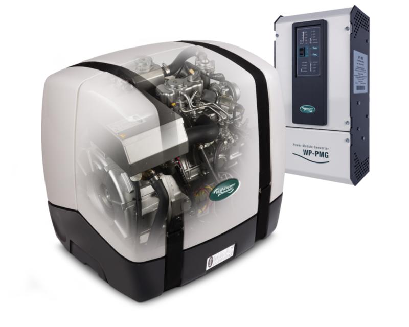 Whisperpower Piccolo 8 MARINE - Generadores AC - velocidad variable