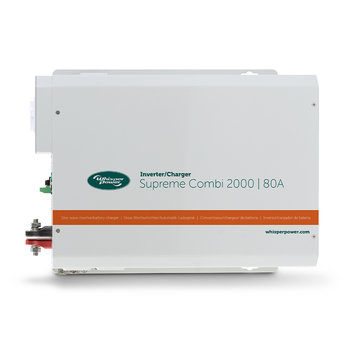 Whisperpower WP Supreme Combi 12 V / 2000 W - 80 A
