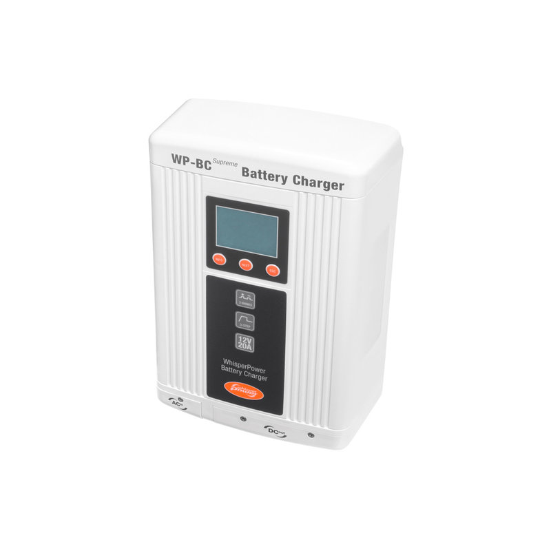 Whisperpower WP-BC Supreme 12 V - 20 A Acculader