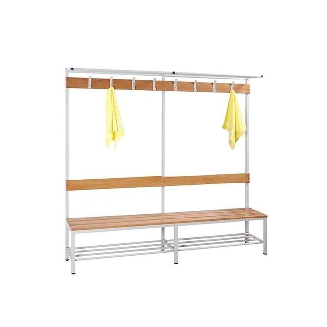 Garderobebank Enkel 200 cm