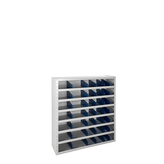 Magazijnkast Laag 108x100x30 cm