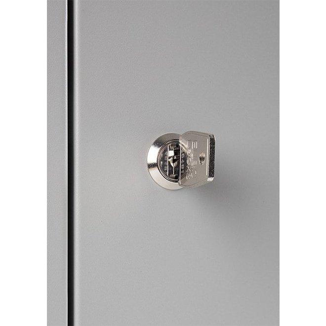 Mini-Locker Met 9 Kluisjes APEL.9 - 188x22x15 cm