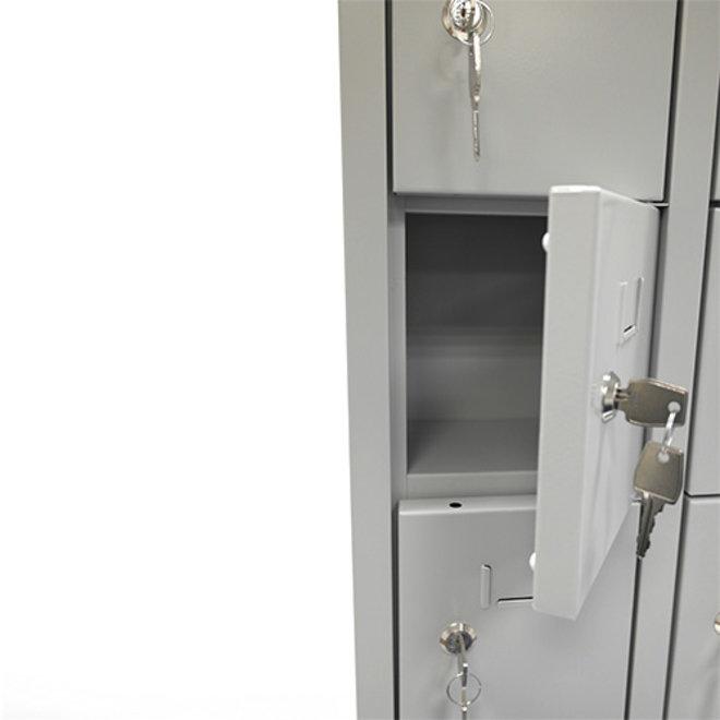 Mini-Locker Met 18 Kluisjes APEL.18 - 188x42x15 cm