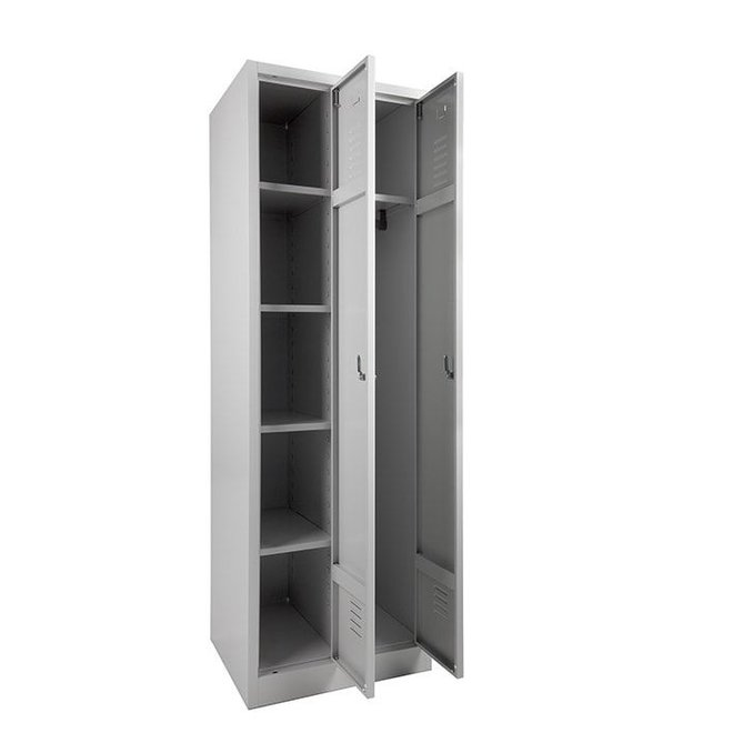 A-Locker 2 deurs Grijs (4+1)