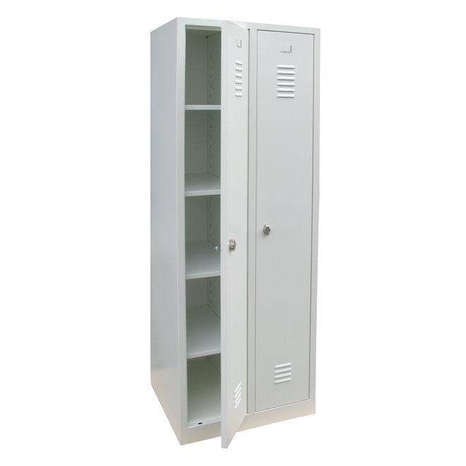 A-Locker 2 deurs Wit (4+1)