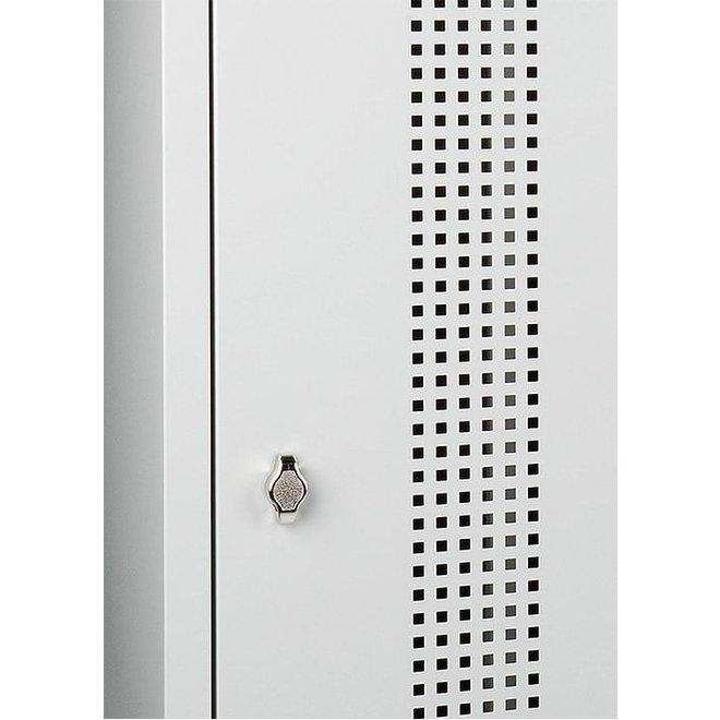 Garderobekast AWRC.3 Met 3 Deuren En Perforatie - Copy