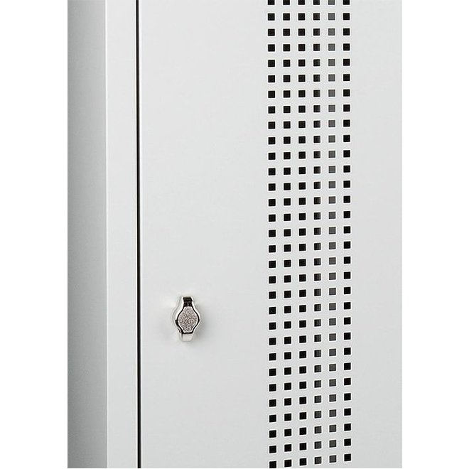 Garderobekast AWRC.2 Met 2 Deuren En Perforatie