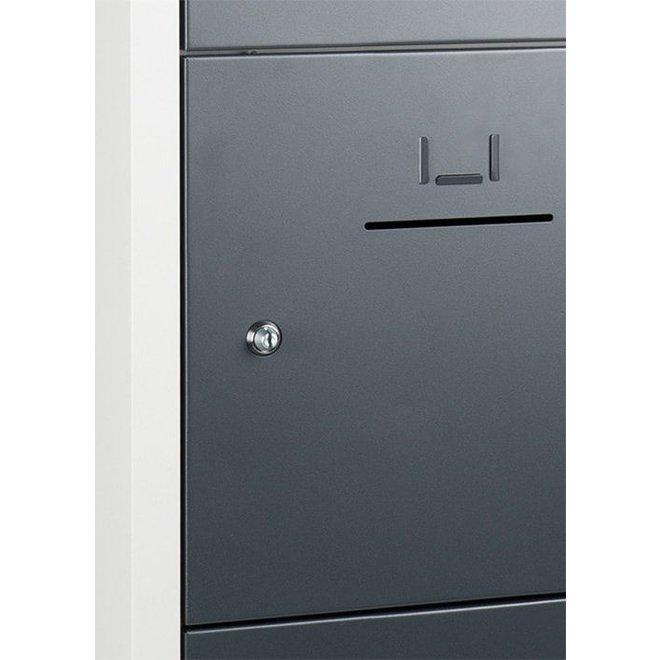 Lockerkast ASHC.5.MUNT Model 1 Koloms En 5 Deuren