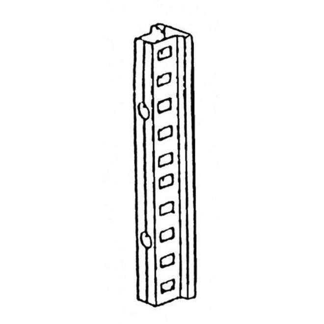 GALVA Aanbouw Stelling 200x100x30 cm