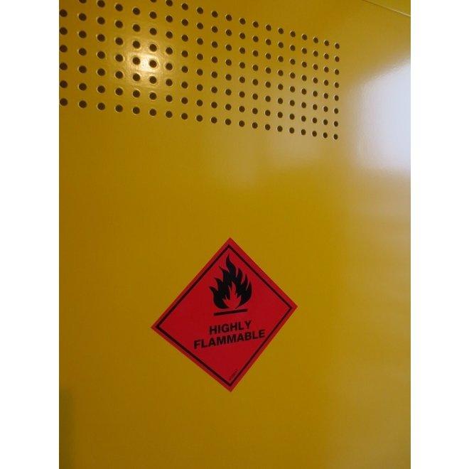 Chemiekast ADMC Laag 1-deurs - PGS15 Kast