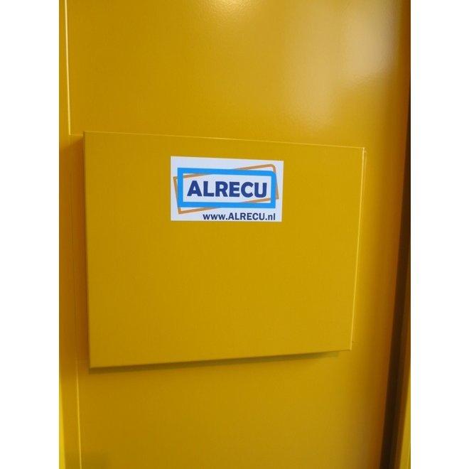 Chemiekast ADMC Hoog 1-deurs - PGS15 Kast