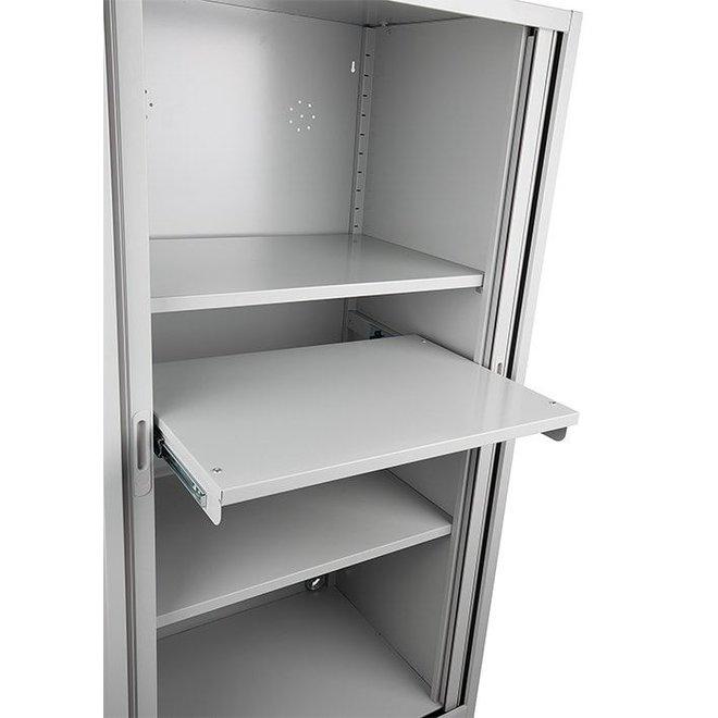 TV- Computerkast Met Uittrekbaar Werkblad ATMC - 178x90x60 cm