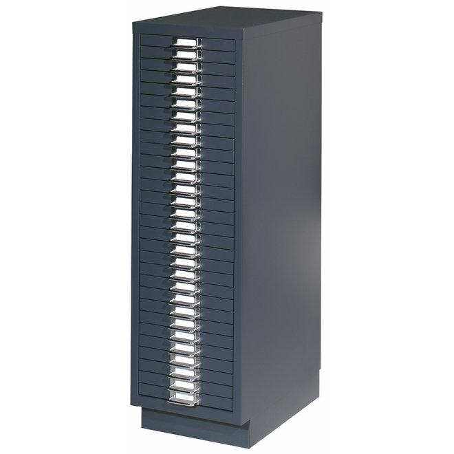 Multiladenkast Met 30 Laden AOCH30 - 92x28x42 cm
