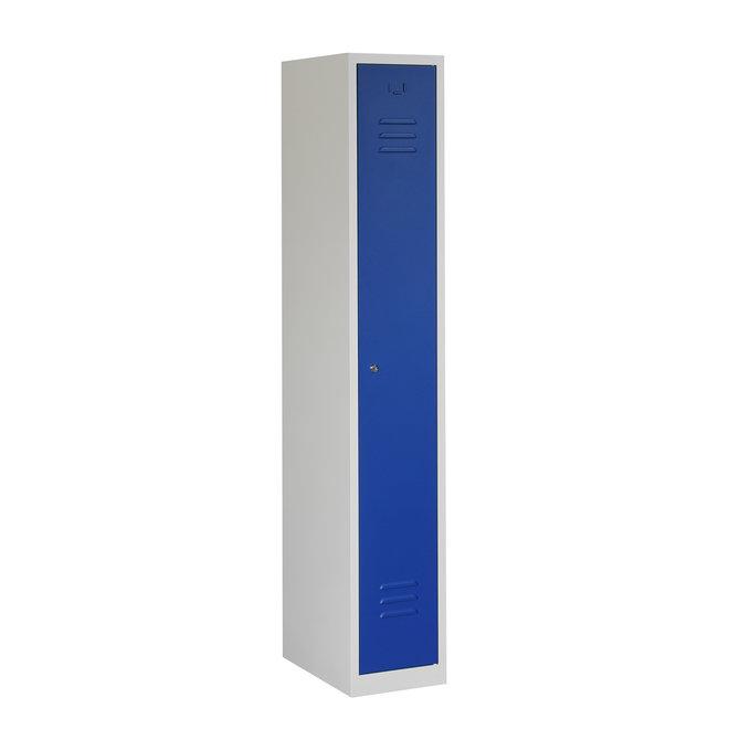 Locker 1-deurs ARH.1.1.GR/BL Kolom 30 cm Breed