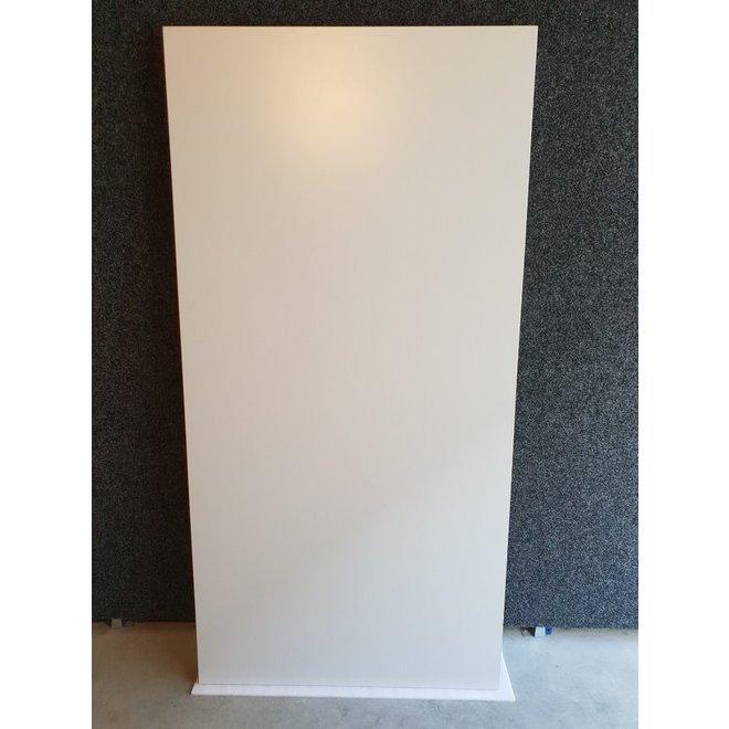 Kantinetafel 200 x 100 cm Grijs Blad en Grijs Frame