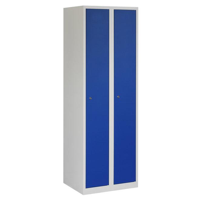 Locker 2-deurs APH.2.2.GR/BL Kolom 30 cm Breed