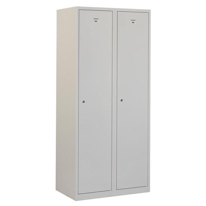 Locker 2-deurs APHT.2.2.GR/GR Kolom 40 cm Breed