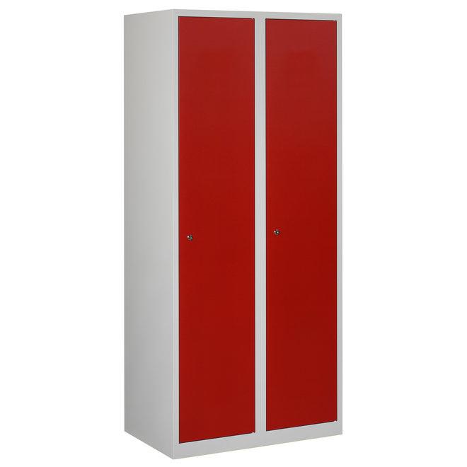 Locker 2-deurs APHT.2.2.GR/RO Kolom 40 cm Breed