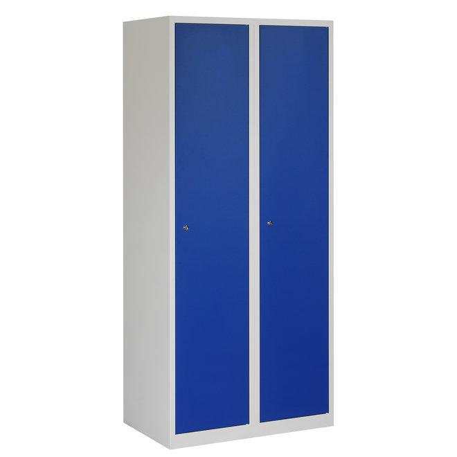 Locker 2-deurs APHT.2.2.GR/BL Kolom 40 cm Breed