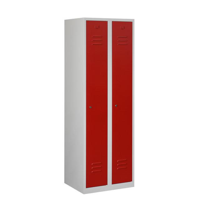 Locker 2-deurs ARH.2.2.GR/RO K30
