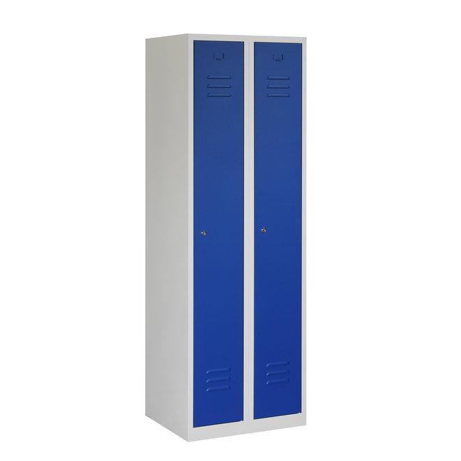 Locker 2-deurs ARH.2.2.GR/BL Kolom 30 cm Breed