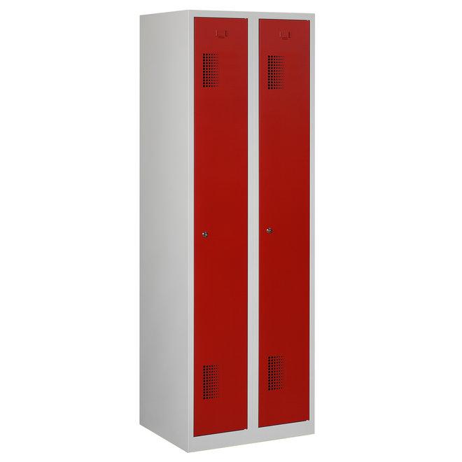 Locker 2-deurs ANH.2.2.GR/RO Kolom 30 cm Breed
