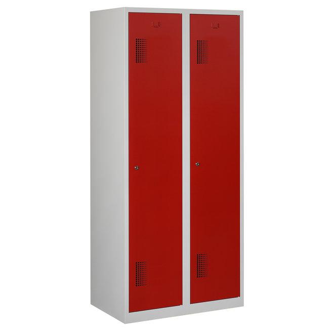 Locker 2-deurs ANHT.2.2.GR/RO Kolom 40 cm Breed