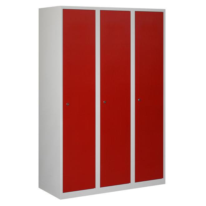 Locker 3-deurs APHT.3.3.GR/RO Kolom 40 cm Breed