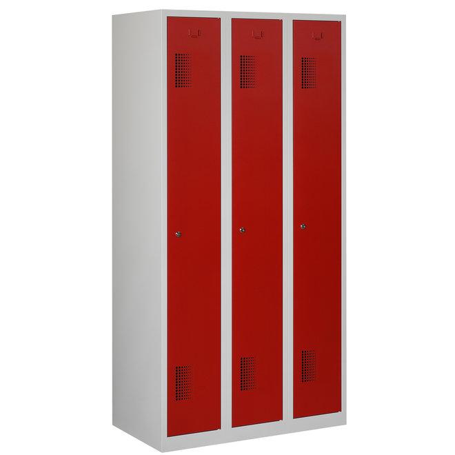 Locker 3-deurs ANH.3.3.GR/RO K30