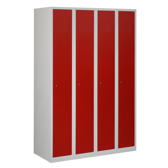Locker 4-deurs APH.4.4.GR/RO Kolom 30 cm Breed