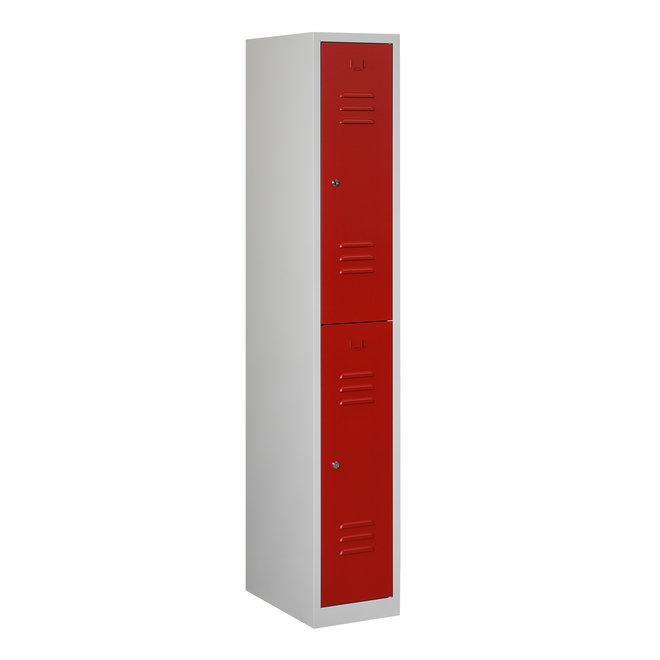 Locker 2-deurs ARH.1.2.GR/RO K30