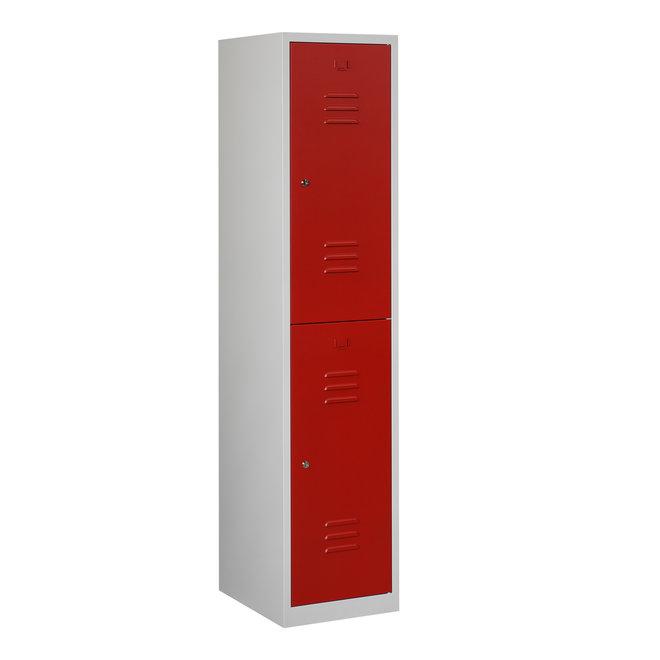 Locker 2-deurs ARHT.1.2.GR/RO Kolom 40 cm Breed