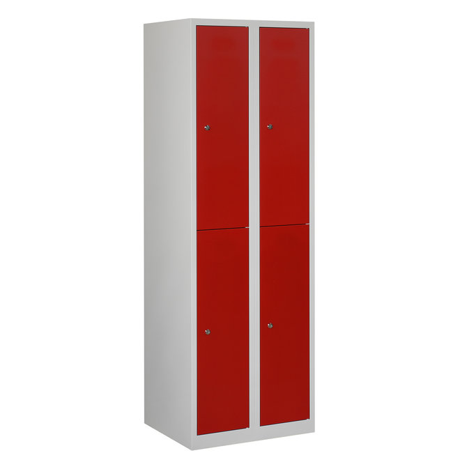 Locker 4-deurs APH.2.4.GR/RO Kolom 30 cm Breed