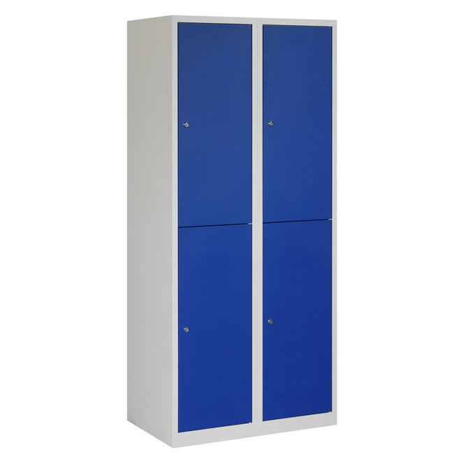 Locker 4-deurs APHT.2.4.GR/BL Kolom 40 cm Breed
