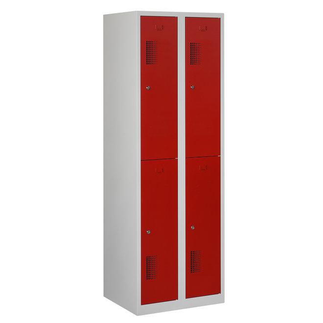 Locker 4-deurs ANH.2.4.GR/RO Kolom 30 cm Breed