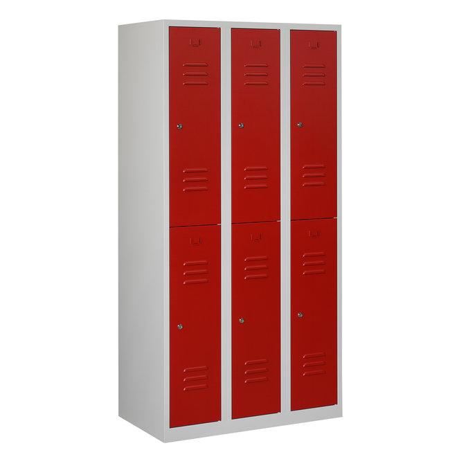 Locker 6-deurs ARH.3.6.GR/RO K30