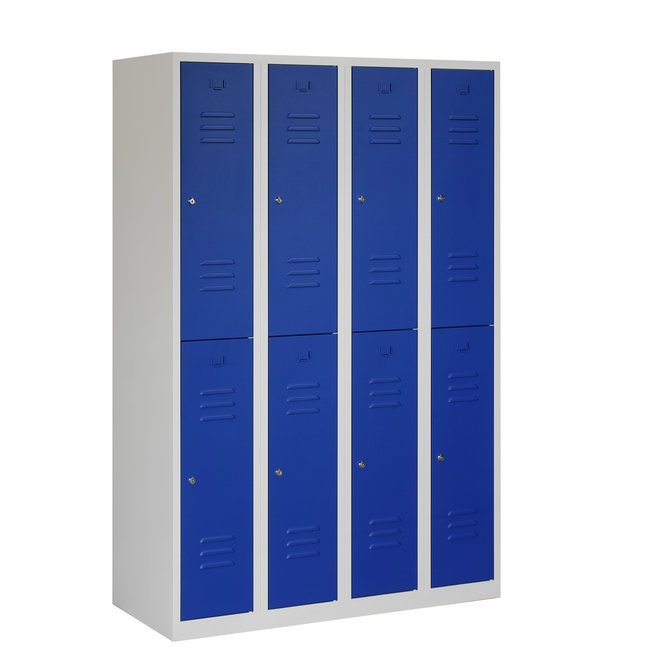 Locker 8-deurs ARH.4.8.GR/BL K30