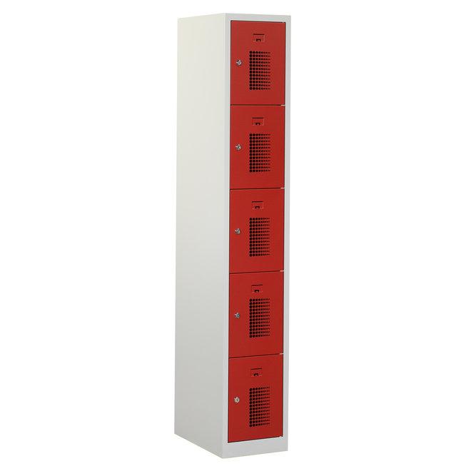 Locker 5-deurs ANH.1.5.GR/RO K30