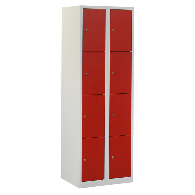 Locker 8-deurs APH.2.8.GR/RO K30