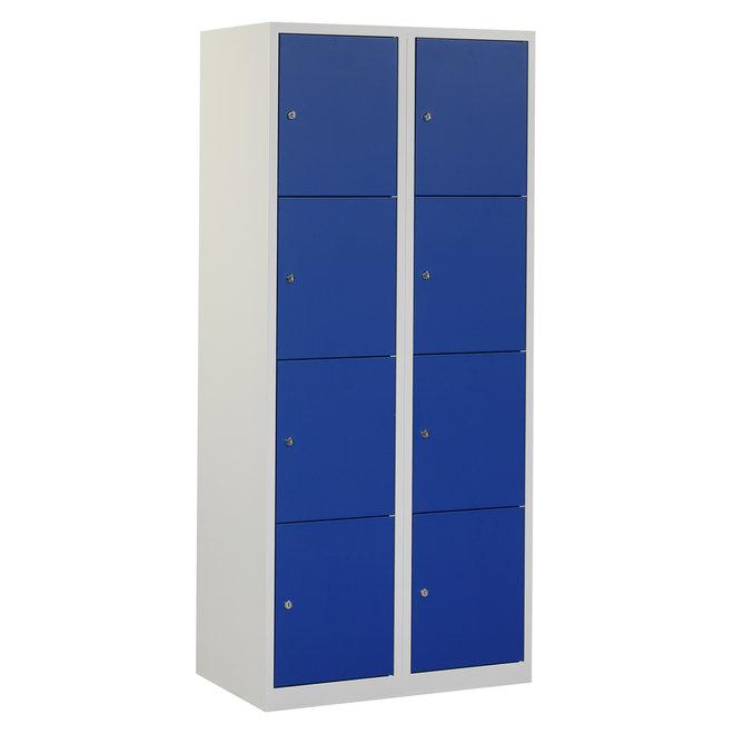 Locker 8-deurs APHT.2.8.GR/BL Kolom 40 cm Breed