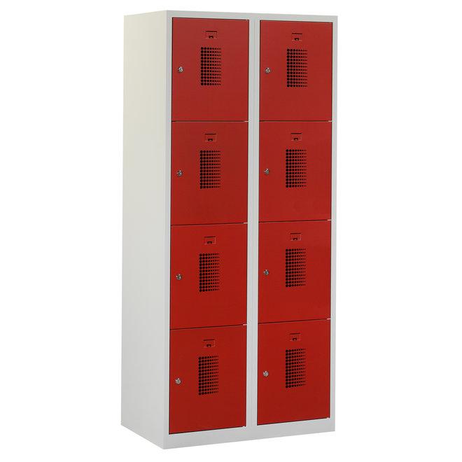 Locker 8-deurs ANHT.2.8.GR/RO Kolom 40 cm Breed