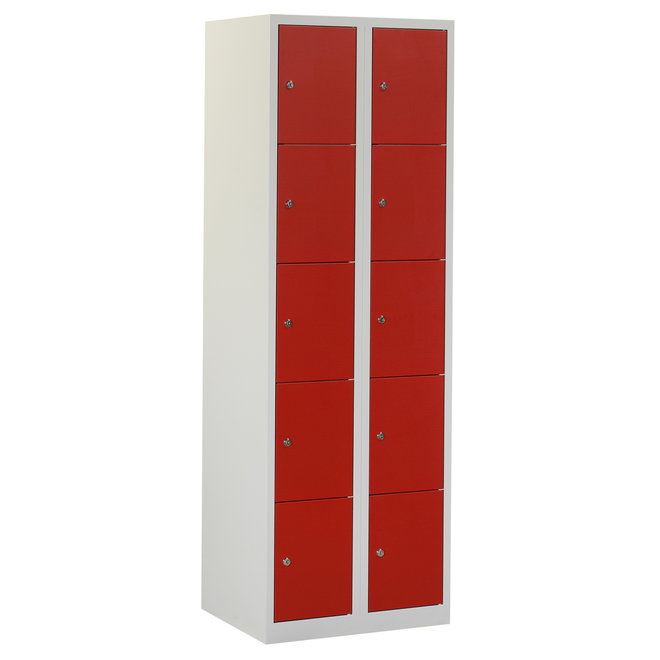 Locker 10-deurs APH.2.10.GR/RO K30
